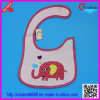 Baby′s Cotton Embroidered Bib with Animal Pattern