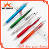 Cheap Push Action Painted Plastic Ball Point Promotion Pen (BP0299)