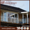 Foshan Wall Mounted Balcony Stainless Steel Balustrade with Glass (SJ-H1904)