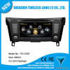 Car Audio for Nissan Qashqai 2014 with Built-in GPS A8 Chipset RDS Bt 3G/WiFi DSP Radio 20 Dics Momery (TID-C353)