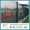 Green Powder Coated 3D Type Welded Mesh Fence