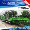 Manufacturer 3 Axle 70tons Excavator Transport Low Bed Gooseneck Trailer