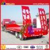30-60ton 2axle 3axle Gooseneck Lowboy Low Bed Truck Semi Trailer