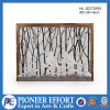 Wooden Spring Decoration with LED Design for Wall Art Decorations
