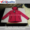 Ladies and Mens Softshell Jackets Quality Control Inspection Service