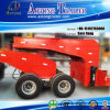 2 Lines 4 Axles Dolly Trailer Low Bed Trailer
