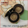 High End Sunflower Shaped Fashion Buttons with Shank