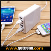 33W 6-Port Family-Sized Desktop USB Charger Universal USB Charger for Iphoner iPad Most Tablet