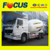 ISO Standard Self Loading Concrete Mixer Truck, 8m3 Truck Mixer
