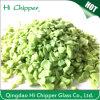 Opaque Green Crushed Terrazzo Glass Chips