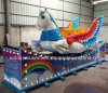 Amusement Park Equipment Rides Rotary Flying Horse Kiddie Ride