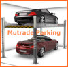 Four Post Two Level Underground Hydraulic Pit Car Parking Lift