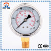 OEM Order Stainless Steel Radial Mounted Gauge Oil Pressure