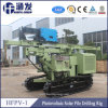 Hfpv-1 Crawler Photovoltaic Solar Pile Drilling Rig