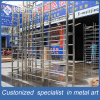 Whole Sale Stainless Steel Standing Wine Display Shelf for Retailstore/Restaurant