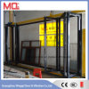 Black Finished Thermal Break Aluminum Bi Fold Door Price in Guangzhou