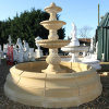 Yellow Natural Stone Fountain Pool for Outdoor