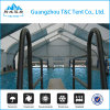 Hard Shell Roof Top Polycarbonate Swimming Pool Cover Tent for Sale
