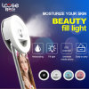 Portable LED Selfie Flash Light Rechargeable Flashlight with Humidifier (RK18)