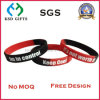 Free Design Segment and Screen Printed Silicone Wristband