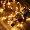 Adaptor Operated LED Fairy Waterfall Lights Warm White Xmas Party Wedding