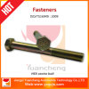 Leaf Spring Parts Hexagonal Center Bolts with Zin Plate