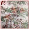 Peach Blossom Pattern Print Pure Silk Satin Fabric