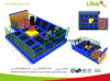 Best Selling Indoor Large Trampoline Park with Basketball Hoop