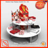 MDF Round Shoe Display Table for Store