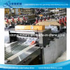 Three Sides and Central Sealing Pouch Bag Making Machine