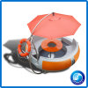 2017 New Design Fiberglass Mini BBQ Donut Boat