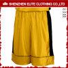 Wholesale Fashionable Men′s Basketball Shorts Yellow (ELTBSI-5)