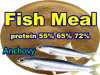 Anvhocy Fish Meal (protein 55% 65% 72%) for Tilapia