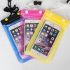 Clear Taking Photo High Sealed Three Layer Zipper Button Locked Waterproof Bag