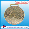 Sports Souvenir Medal Running Medal Antique Gold