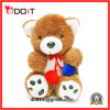 Cute Teddy Bear Toy with Elegant Silk Dresses