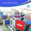Front and Rear Co Extrusion Single Screw Extruder Machine