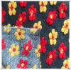 3D Flower Jacquard Kintted Woolen Fabric/Warmth Wool Fabric