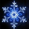 LED Snowflake Motif Light for Xmas Home Decoration