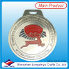 Customized Jiu-Jitsu Medal with Logo Enamel