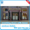 Copper Finished Revolving Door