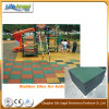 Outdoor Indoor Recycled Rubber Pavers, Colorful Rubber Floor Tiles