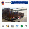 3 Axle Stake Truck Trailer for 80ton Cargo Transport