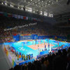 Cheap Indoor/Outdoor PVC Interlocking/Roll / Tile Volleyball Floor