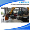 Pd28 Hydraulic Excavator Mounted Rock Drilling Rig for Borehole Drilling