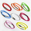 Hair Accessories Elastic Rubber Hair Band with Metal, 16 PCS as 1 Set, Har-10133