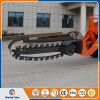 Mini Wheel Loader with Trencher and Quick Hitch