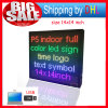 Indoor LED Display Billboard USB Editable Support Text Logo Image Advertising LED Running Sign