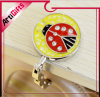 Promotional Cartoon Design Purse Hanger with Soft Enamel