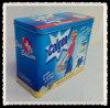 Rectangle tin can for washing powder